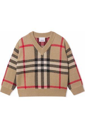 Burberry Pull à motif Vintage Check