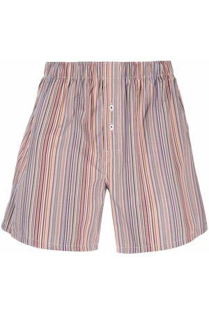 Paul Smith Femme Shortys - Multi-stripe pattern boxers