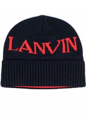 Lanvin Logo-print beanie