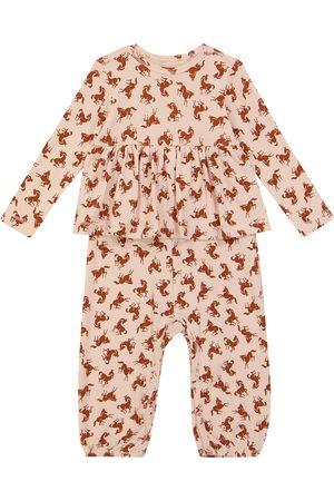 Molo Combi-pantalon Flavia imprimée en coton mélangé