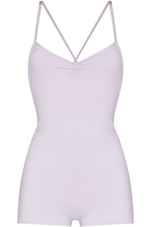 LIVE THE PROCESS Saturn ruched detail playsuit