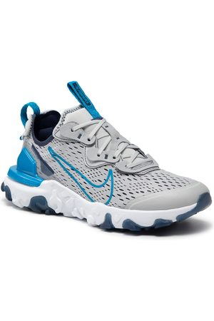 NIKE Chaussures - React Vision (GS) CD6888 011 Grey Fog/Imperial Blue