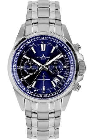 Jacques Lemans Montre - 1-2117K Solid Stainless Steel