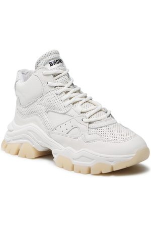 Bronx Femme Baskets - Sneakers - 47309-A Off White 05
