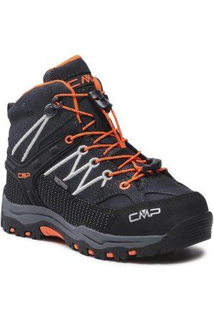 CMP Chaussures de trekking - Rigel Mid Trekking Shoe Wp 3Q12944 Antracite/Flash Orange 47UG