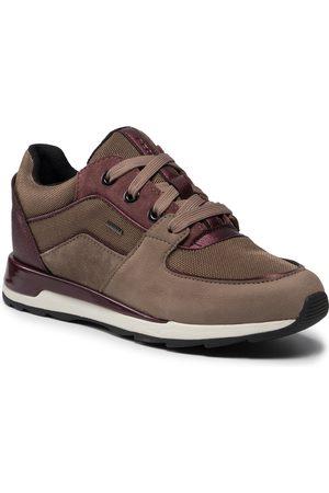 Geox Sneakers - D New Aneko B Abx C D16LYC 03314 C5005 Dk Beige