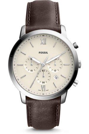 Fossil Montre - Neutra Chrono FS5380 Brown/Silver