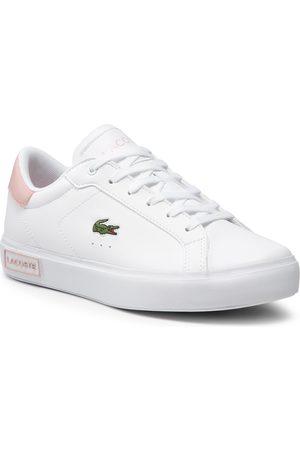 Lacoste Sneakers - Powercourt 0721 1 Suj 7-41SUJ00141Y9 Wht/Lt Pink