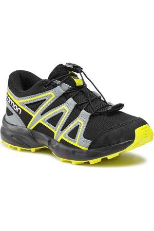 Salomon Chaussures - Speedcross J 414471 09 M0 Black/Black/Evening Primrose