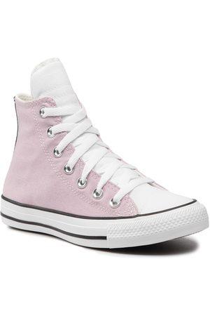 Converse Femme Chaussures - Baskets - Ctas Hi Himalayan 171365C Himalayan Salt/Whi