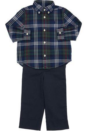 Ralph Lauren Chemise & Pantalon En Coton Oxford