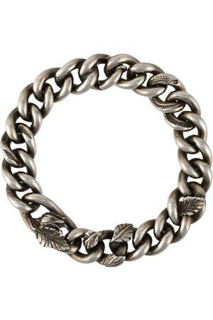 WERKSTATT:MÜNCHEN Bracelet en chaîne à ornements gravés