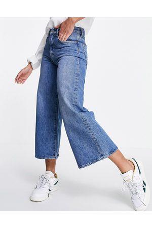 French Connection Jupe-culotte en jean - moyen