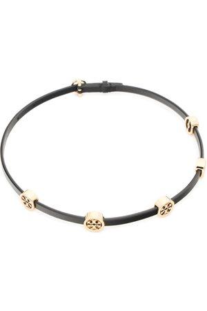 Tory Burch Bracelet - Miller Double Wrap Bracelet 82720 Tory Gold/Black 720