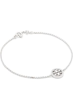 Tory Burch Bracelet - Miller Pave Chain Bracelet Tory 80997 Silver/Crystal