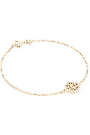 Tory Burch Bracelet - Miller Pave Chain Bracelet Tory 80997 Gold/Crystal 783