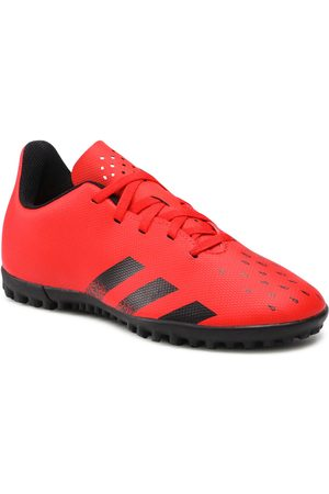 adidas Chaussures - Predator Freak .4 Tf J Red/Cblack/Red