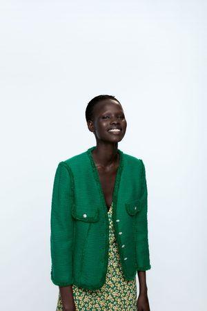 Zara Veste à boutons bijoux
