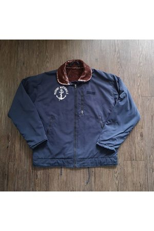 AnciennementModern Circa 80S French Marine Nationale Deck Jacket /Made in France/Vintage Militaria Classic