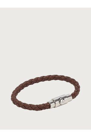 Salvatore Ferragamo Homme Montres - Hommes Bracelet tressé - taille L Brun