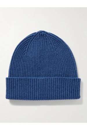 Mr P. Homme Bonnets - Ribbed Wool Beanie