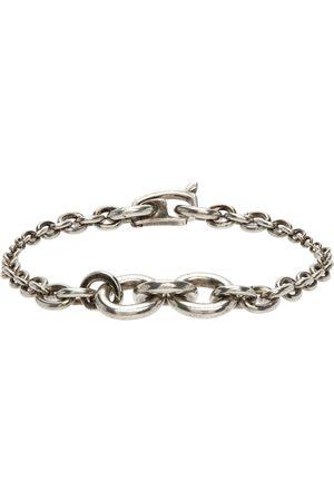Saint Laurent Bracelet argenté Mini Graduated Chain
