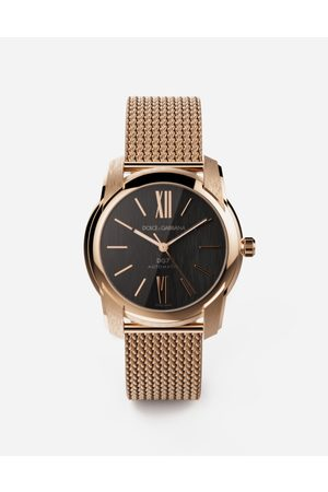 """Dolce & Gabbana Montres - Uhr DG7 in rotgold mit armband """"maglia milano"""" male OneSize"""