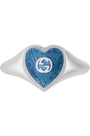 Gucci Bague cœur à logo GG