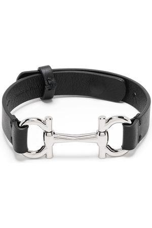 Salvatore Ferragamo Bracelet ajustable à détail de mors