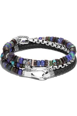 John Hardy Bracelet Classic Chain orné de perles à design multi-tour