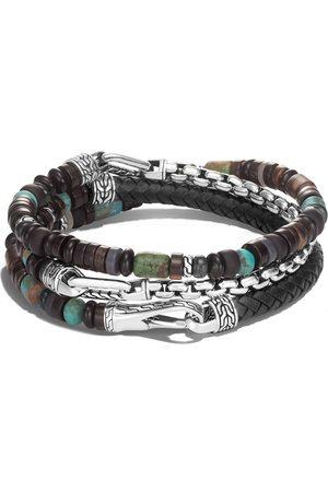 John Hardy Bracelet Classic Chain en argent à design multi-tour