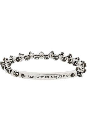 Alexander McQueen Bracelet à perles tête de mort