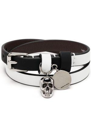 Alexander McQueen Bracelet à motif tête de mort