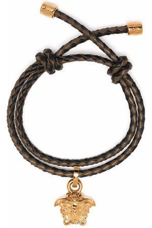 Versace Bracelet Medusa à bride tressée