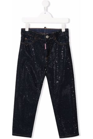 Dsquared2 Fille Coupe droite - Mid-rise straight-leg jeans