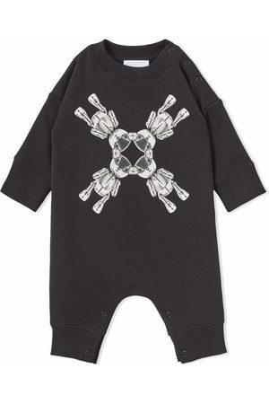 Burberry Kids Bébé Bodys bébé - Body en coton à imprimé Thomas Bear