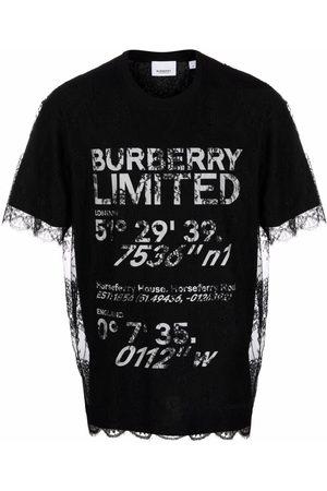 Burberry T-shirt Coordinates superposé
