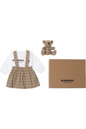 Burberry Kids Ensembles - Thomas Bear three-piece set