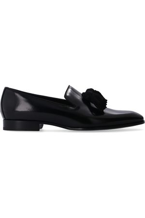 Jimmy Choo Foxley leather moccasins , Homme, Taille: 42 1/2