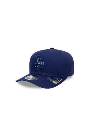 New Era Casquettes - Casquette MLB Los Angeles Dodgers Team Outline 9FIFTY Stretch Snap