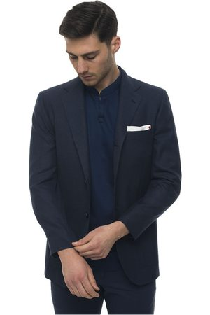 Kiton Deconstructed-unlined blazer with 3 buttons , Homme, Taille: 52 IT