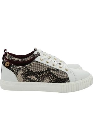 Faguo Leather Balsa Sneakers , Femme, Taille: 36