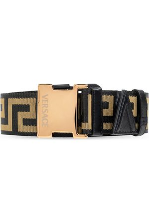 VERSACE Belt with Greek pattern , Homme, Taille: 75 cm
