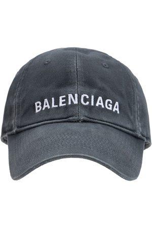 Balenciaga Casquette En Coton À Logo