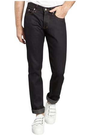 Naked & Famous Denim Deep Stretch Selvedge Jeans , Homme, Taille: W32