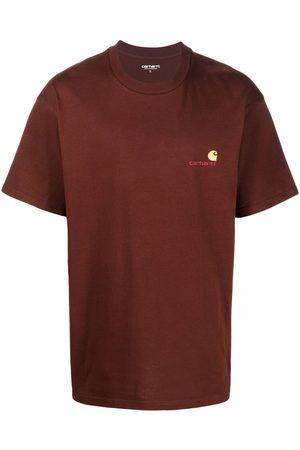 Carhartt Logo-embroidered cotton T-shirt