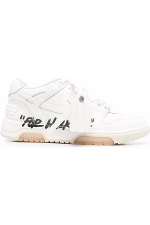 """OFF-WHITE OUT OF OFFICE """"FOR WALKING"""" WHITE BLACK"""