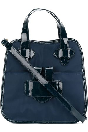 Tila March Zelig small contrast trim tote