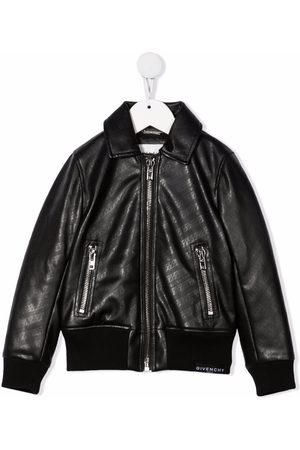 Givenchy Chain-link print bomber jacket