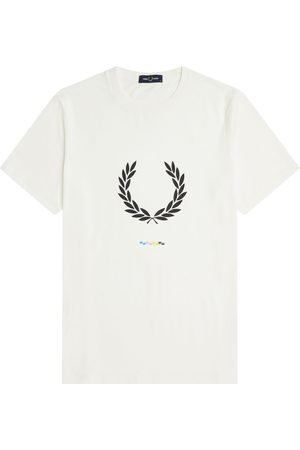 Fred Perry Print Registration Tee , Femme, Taille: M